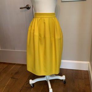 Yves St Laurent Runway Wool skirt